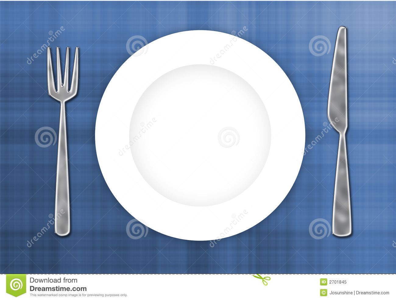 Cutlery Amp Plate Royalty Free Stock Photo Cartoondealer