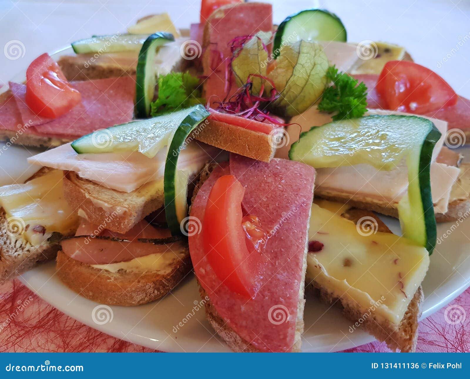 Cutlets na talerzu
