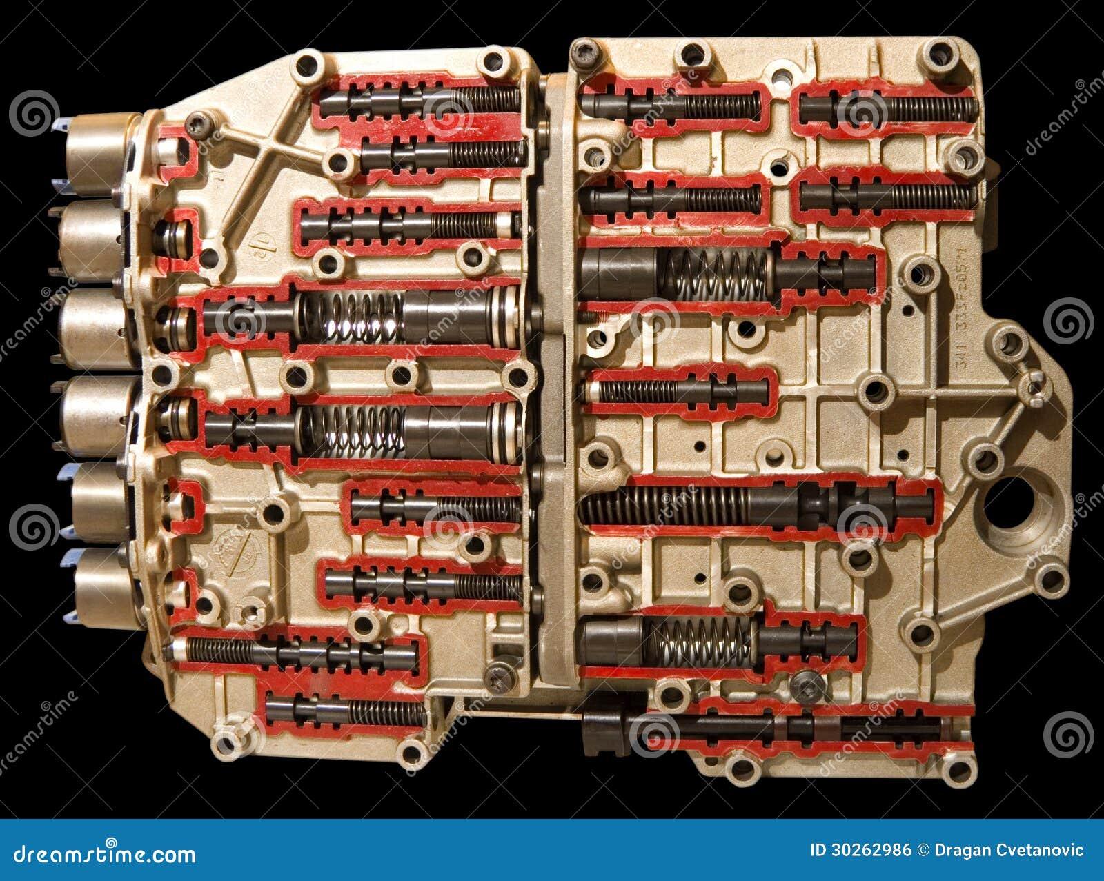 Automatic Transmission Valve Body Shift Kit Royalty Free