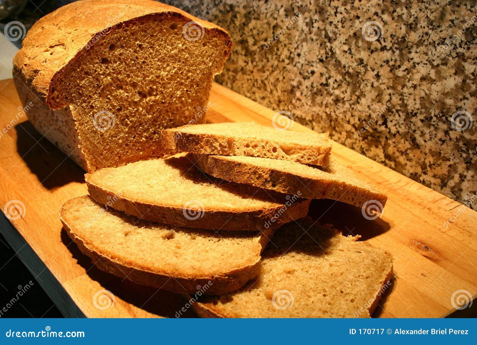 Cutted的面包
