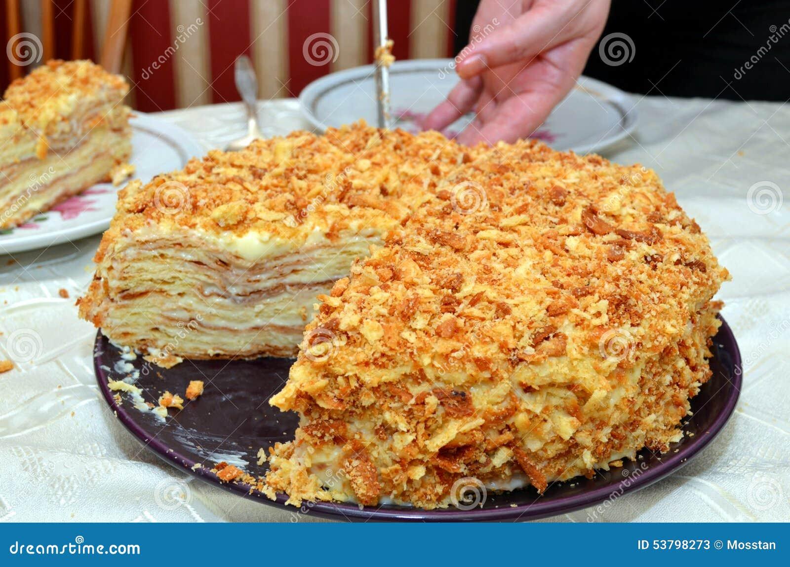 Cutting The Birthday Cake Stock Image Image Of Knife 53798273