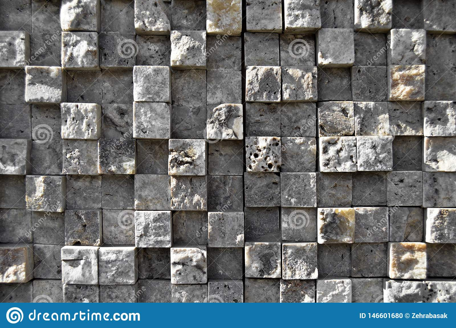 Cutting Blue Marble Wall Lined Up Detail Stock Photo Image Of Gold Design 146601680
