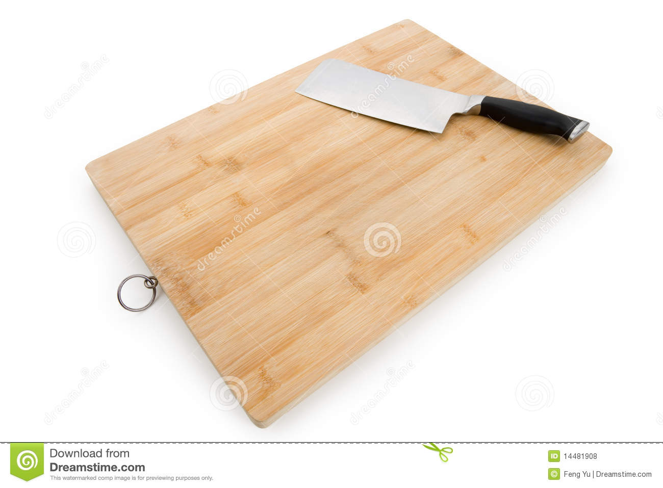 Cutting board and kitchen knife royalty free stock photos for Kitchen knife set of 7pcs with cutting board