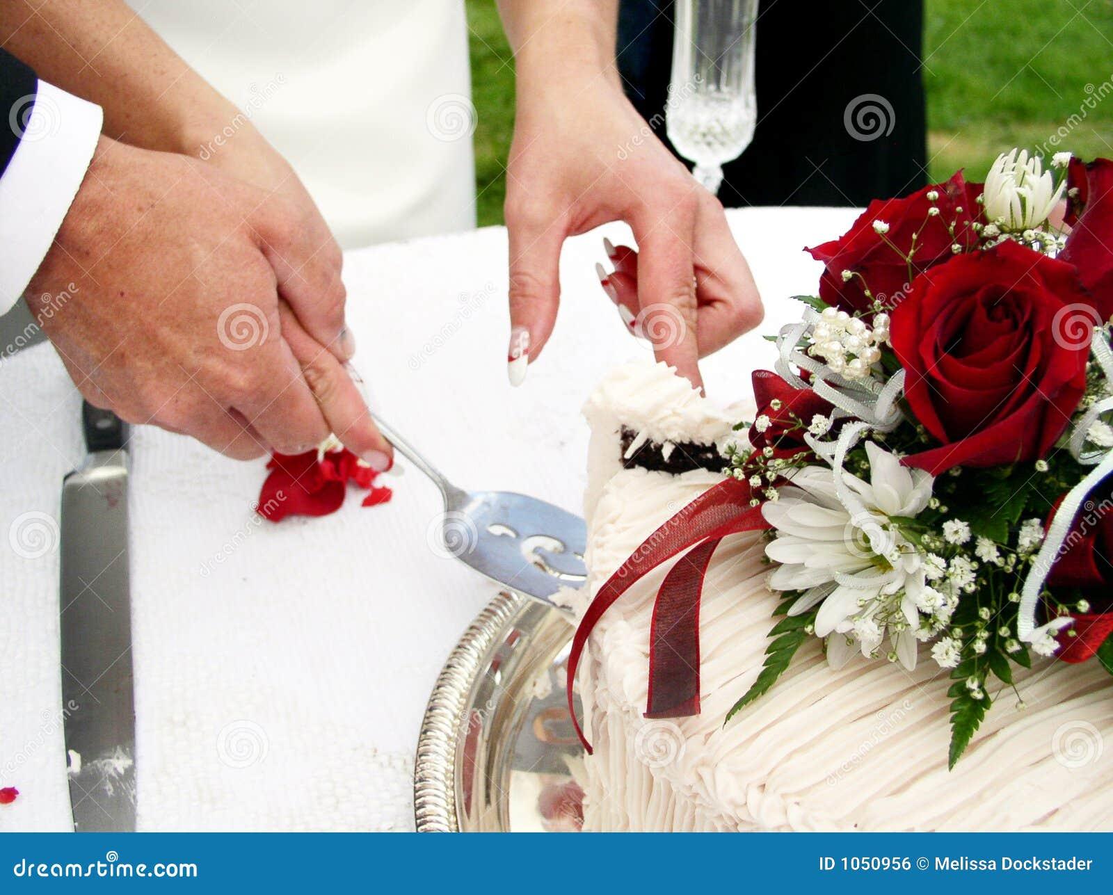 Cutting The Cake Royalty Free Stock Image Image 1050956