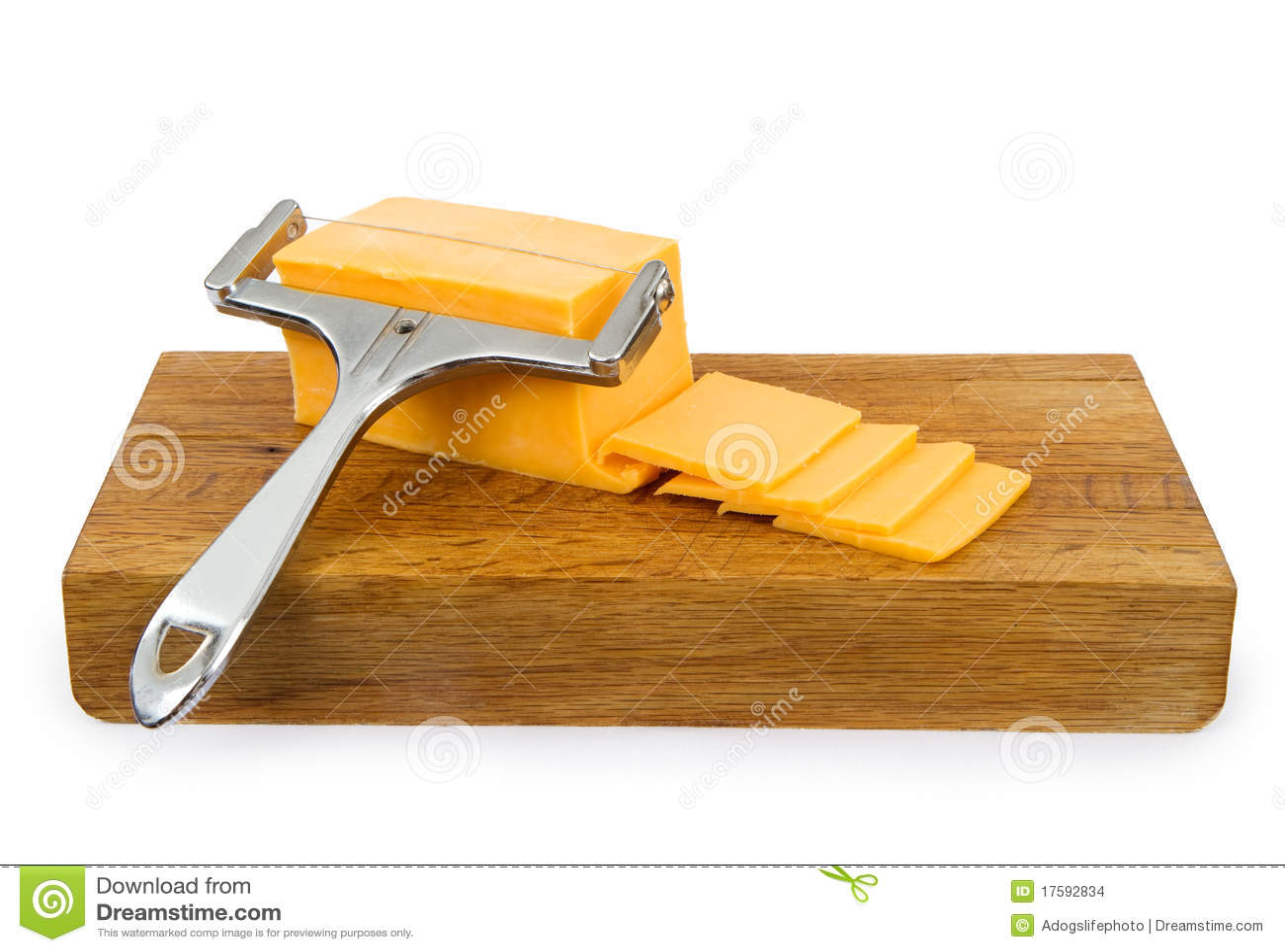 Cutting för brädecheddarost