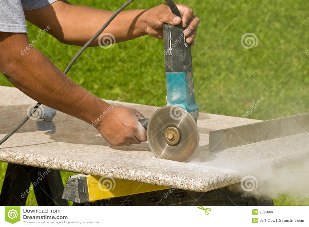 Perfect Royalty Free Stock Photo. Download Cutting Granite Countertops ...