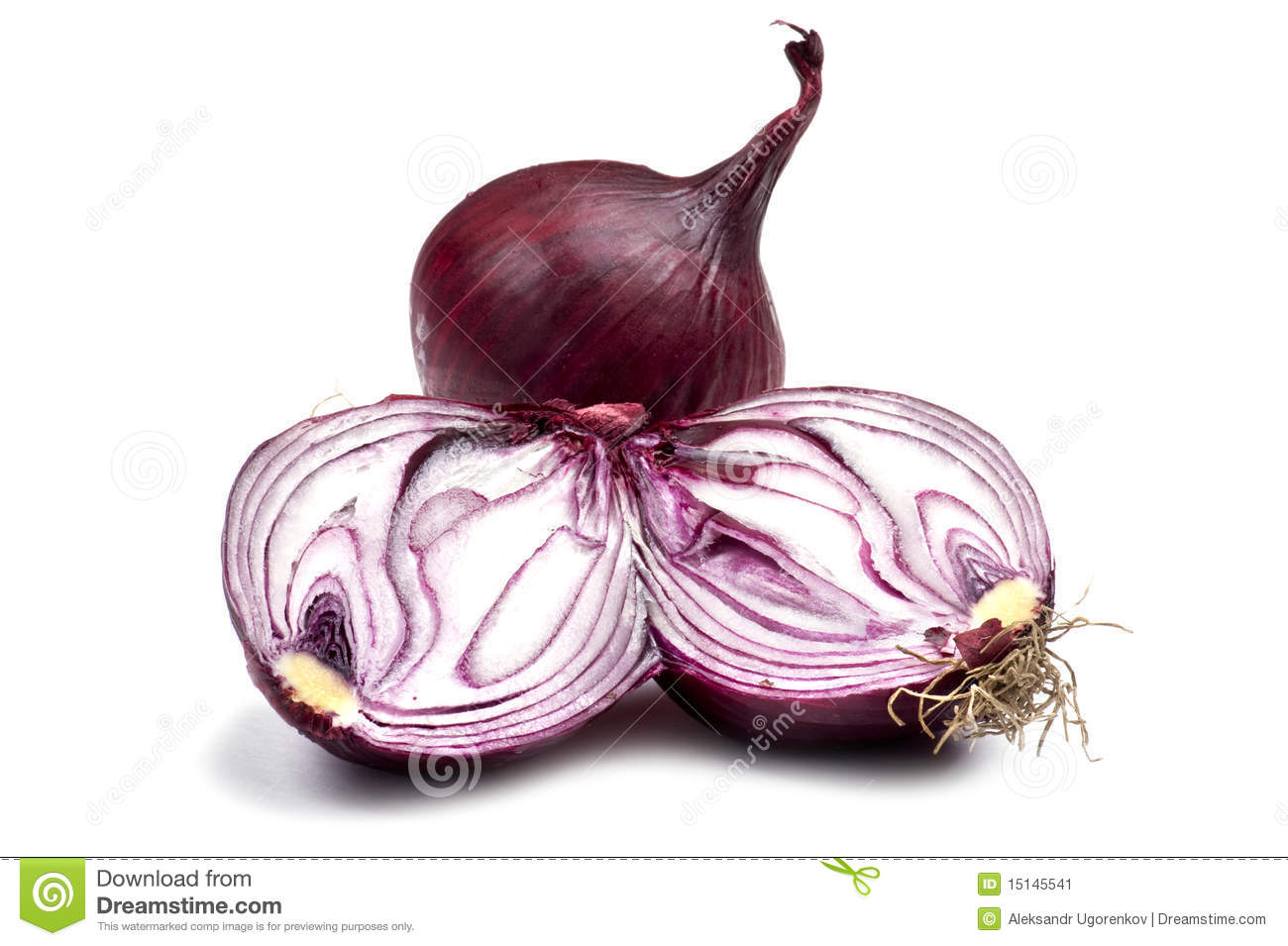 Cutting Red Onion Close Up Stock Image - Image: 15145541