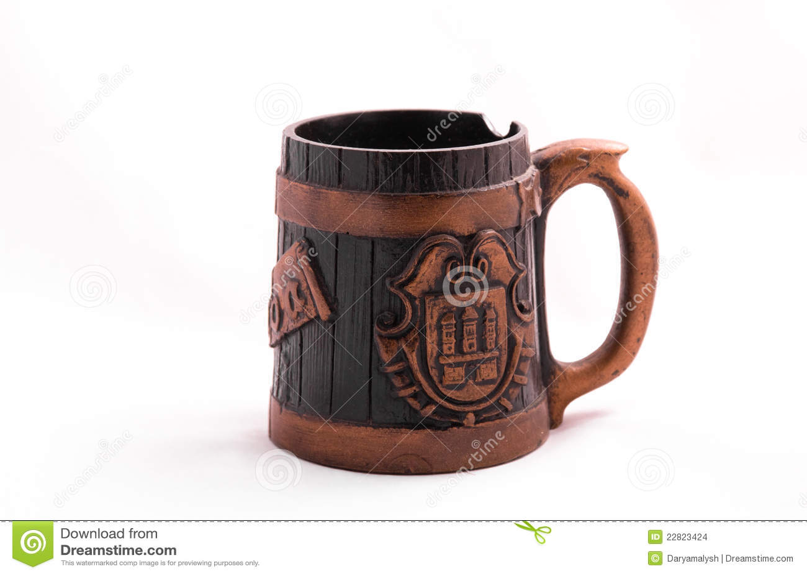 Cuvette de bière de cru
