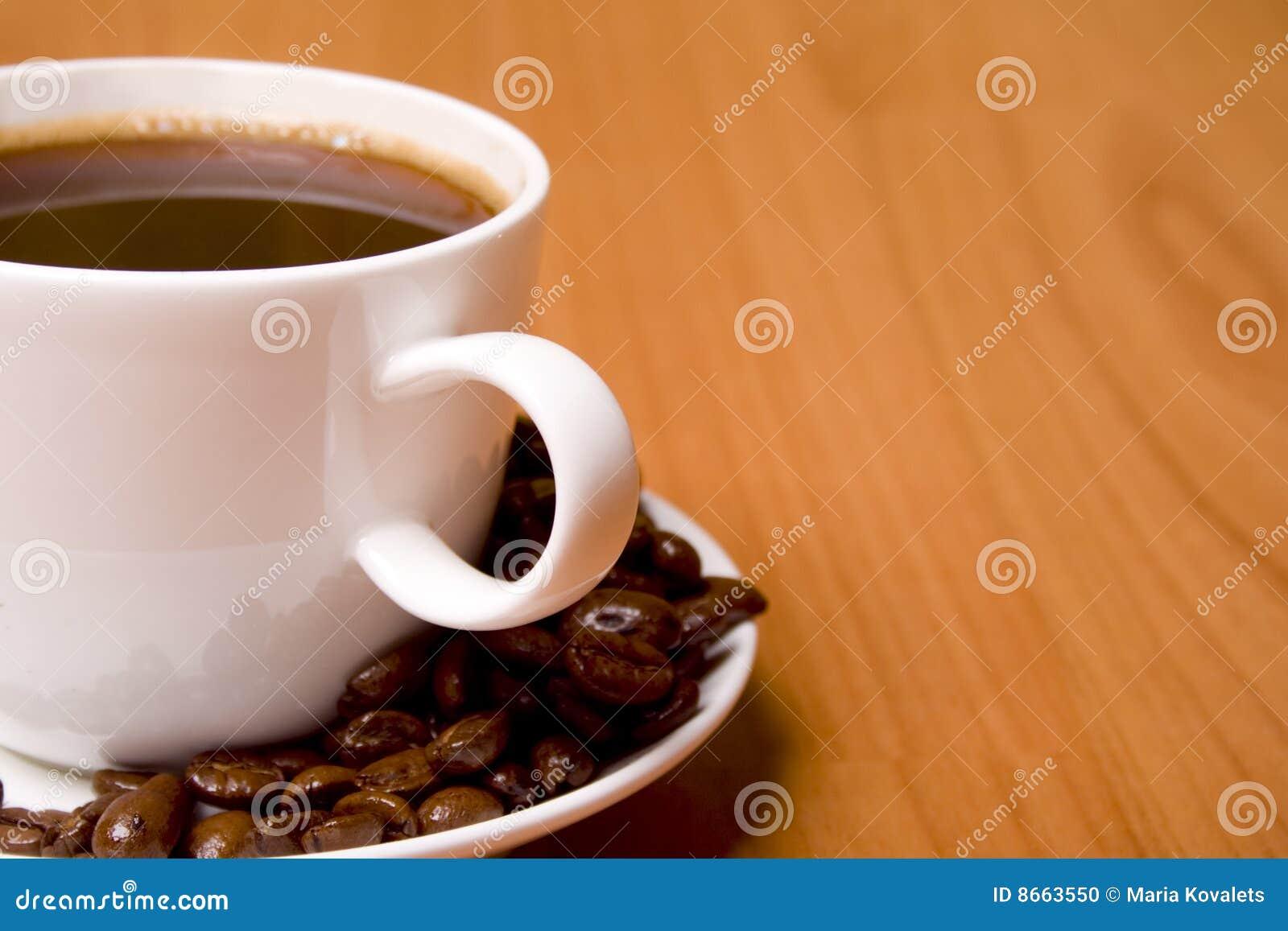 Cuvette de café d haricots