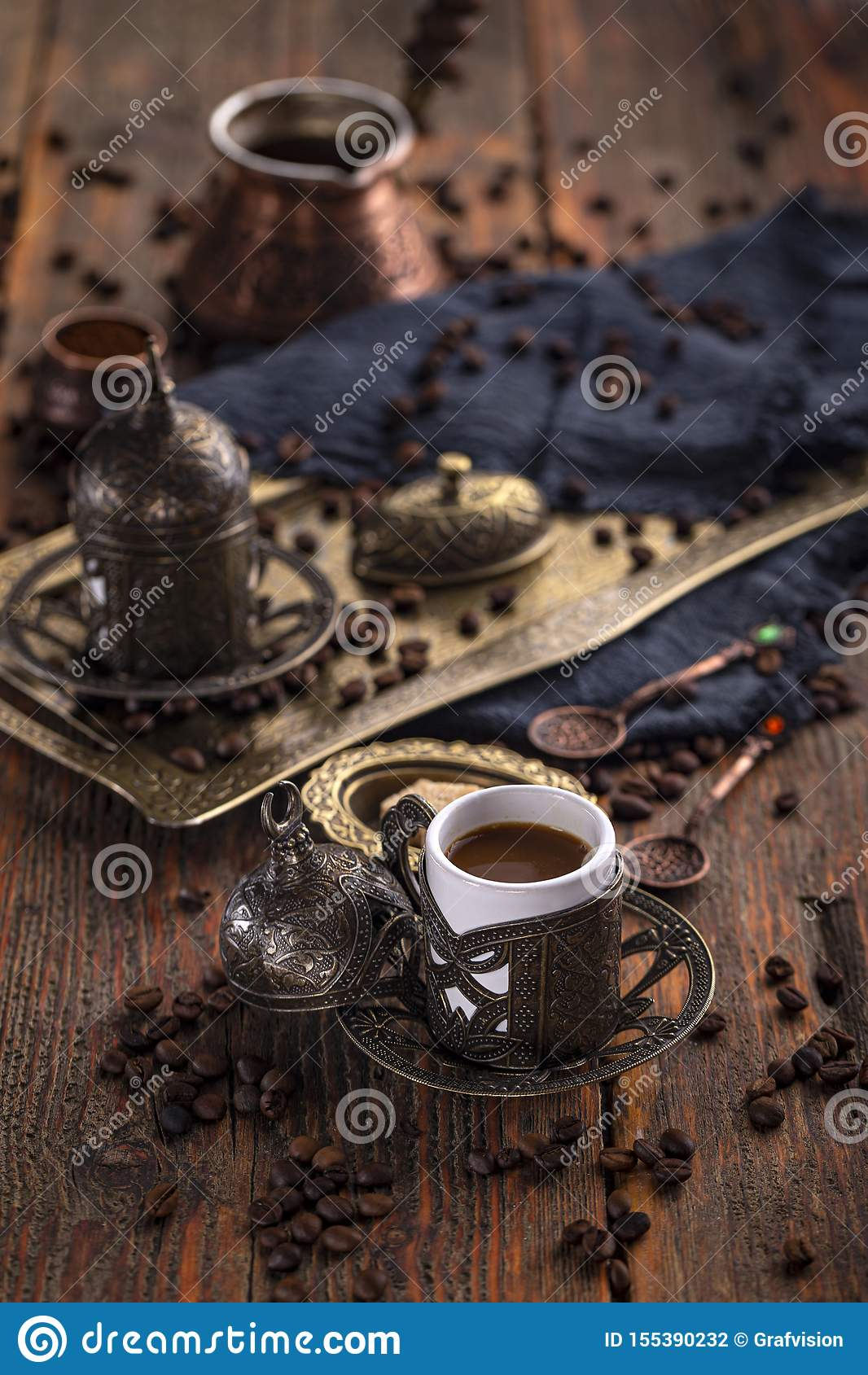 Cuvette de caf? turc