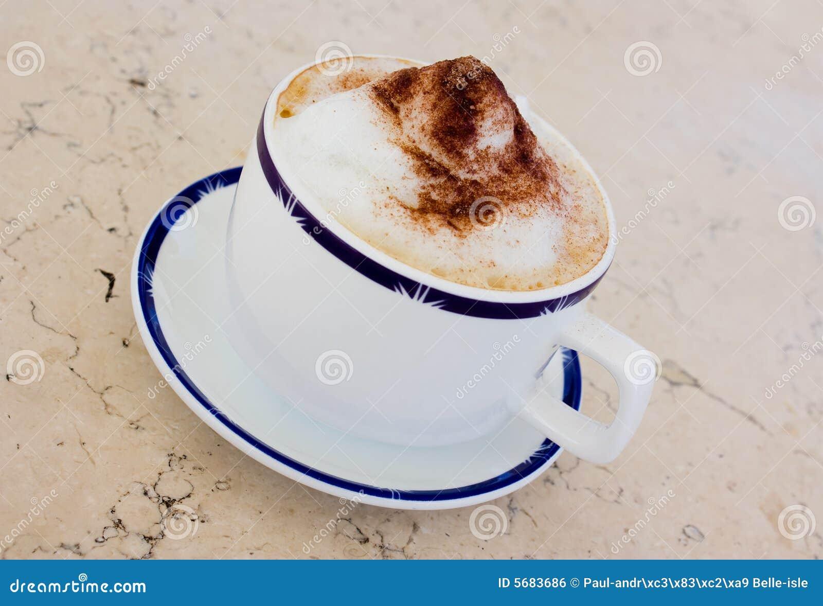 Cuvette de cappuccino