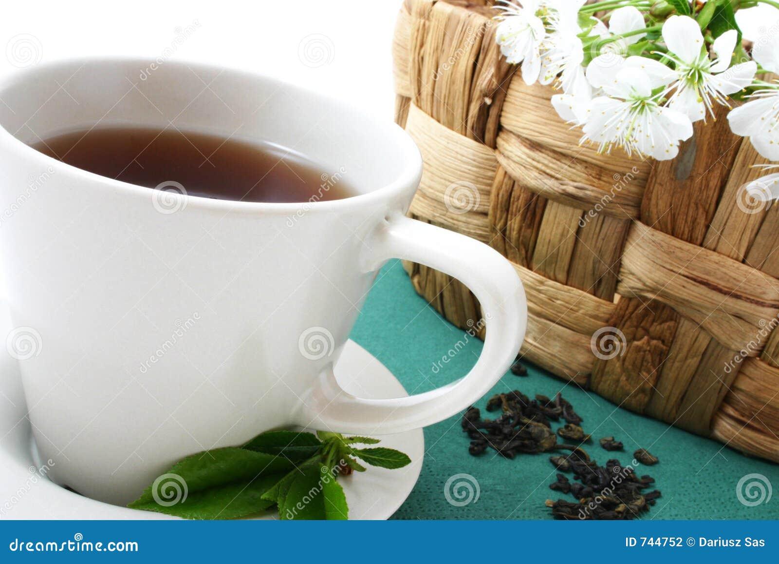 Cuvette de détente de thé