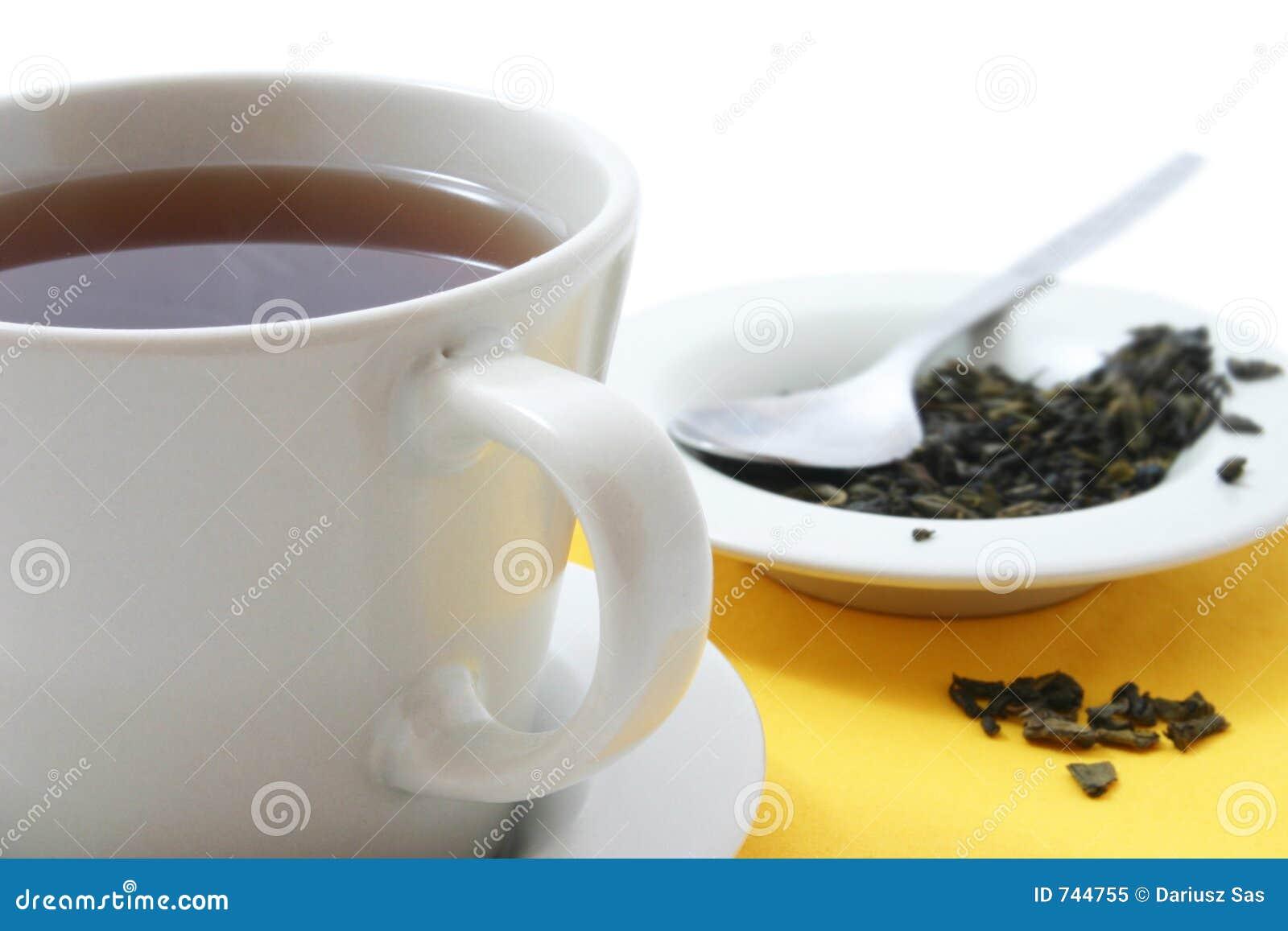 Cuvette de thé en verre
