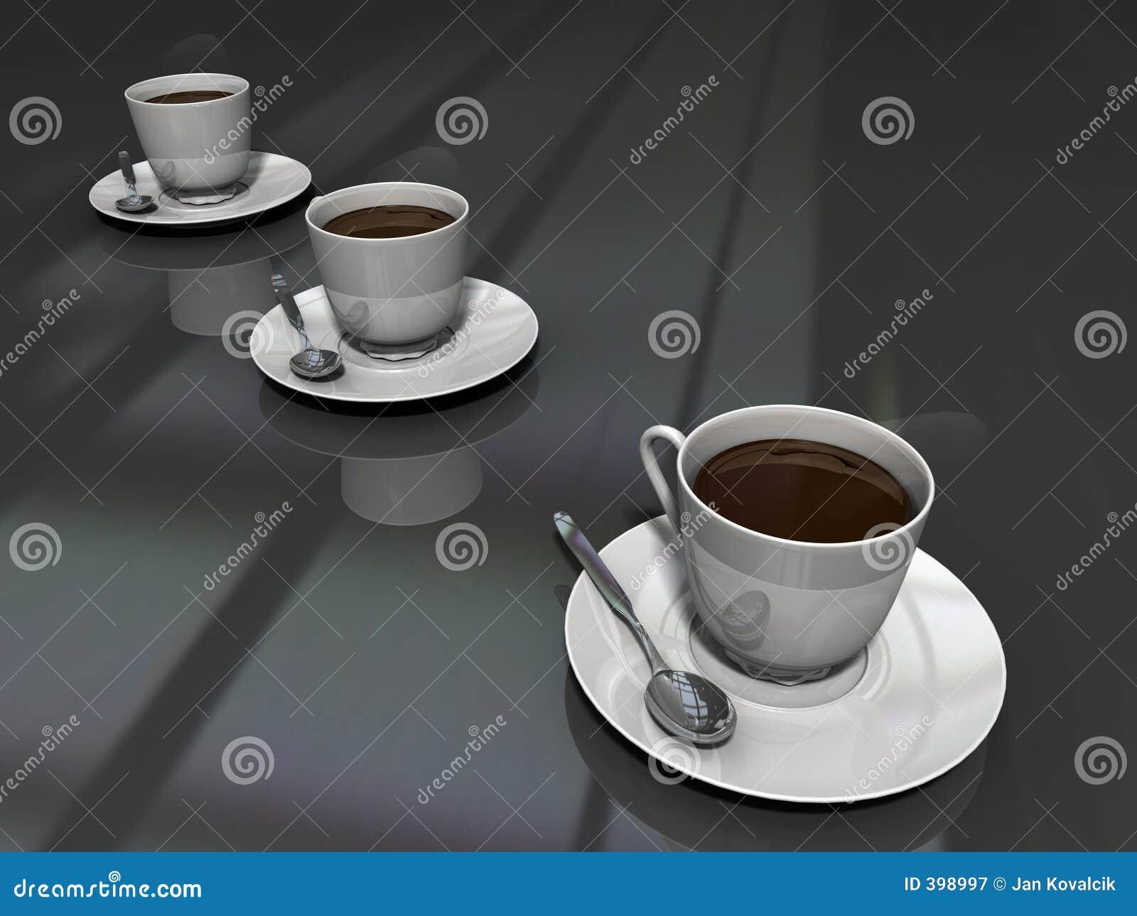 Cuvettes de café