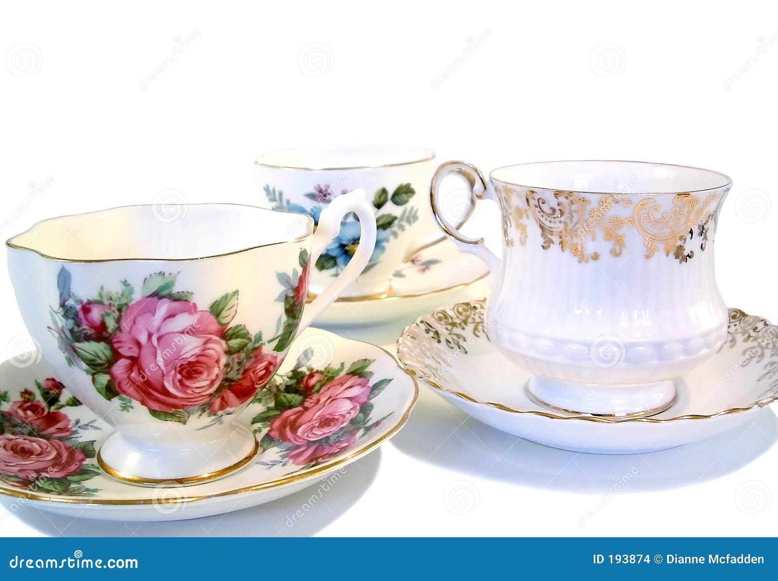 Cuvettes de thé