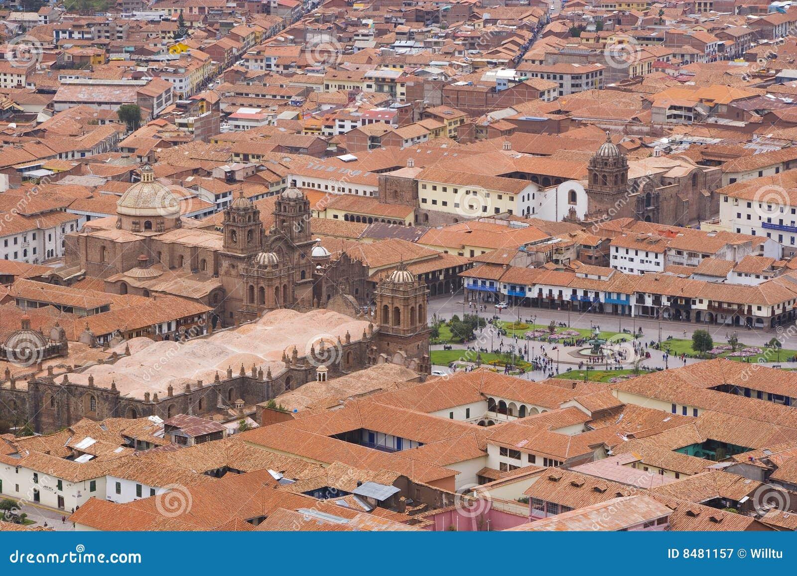 Cuzco Pérou de ville