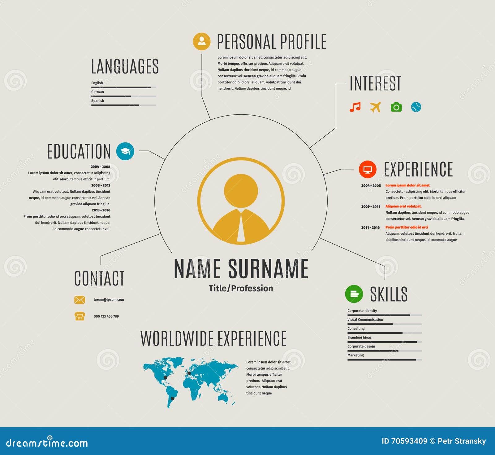 graphic artist resume template