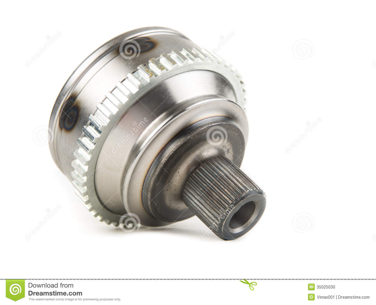 cv joints  constant velocity joints  part wheel of the car  stock photo