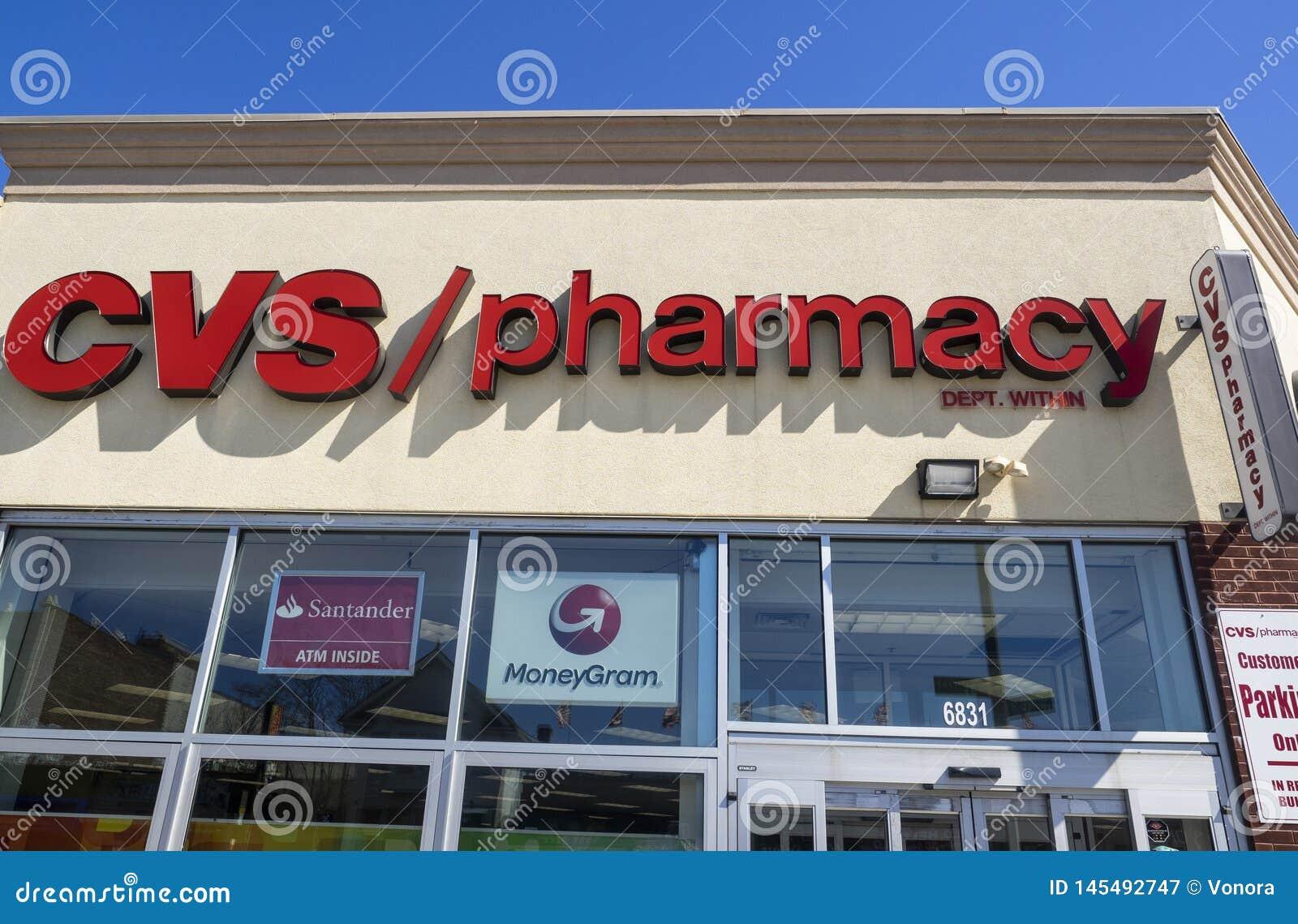 CVS Pharmacy exterior editorial photography. Image of ...