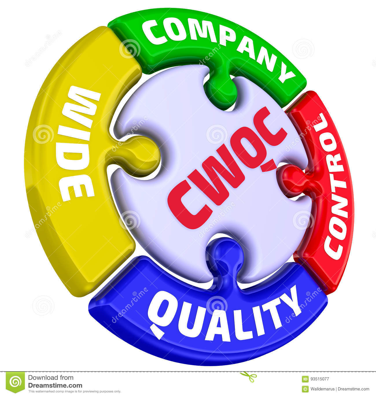 f0016ea19d1 CWQC Contrôle de qualité large de société La marque sous forme de puzzle