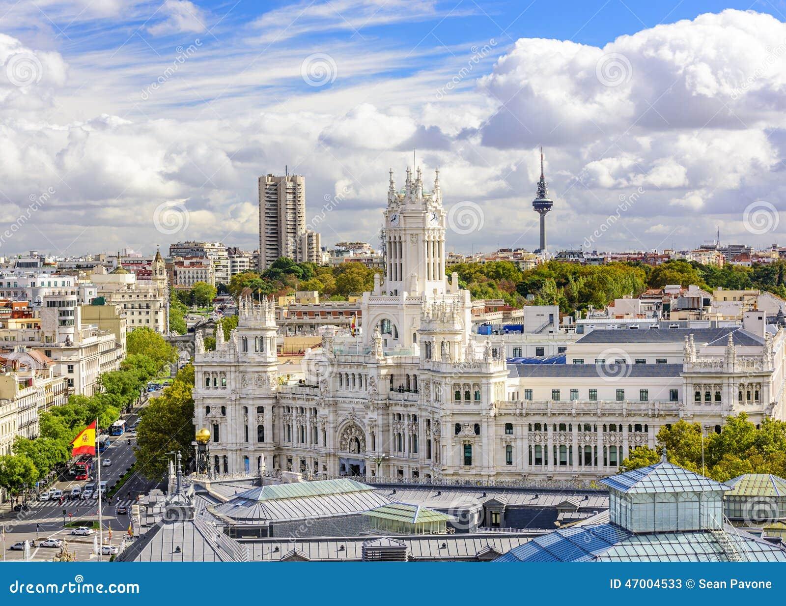 Cybele Plaza of Madrid