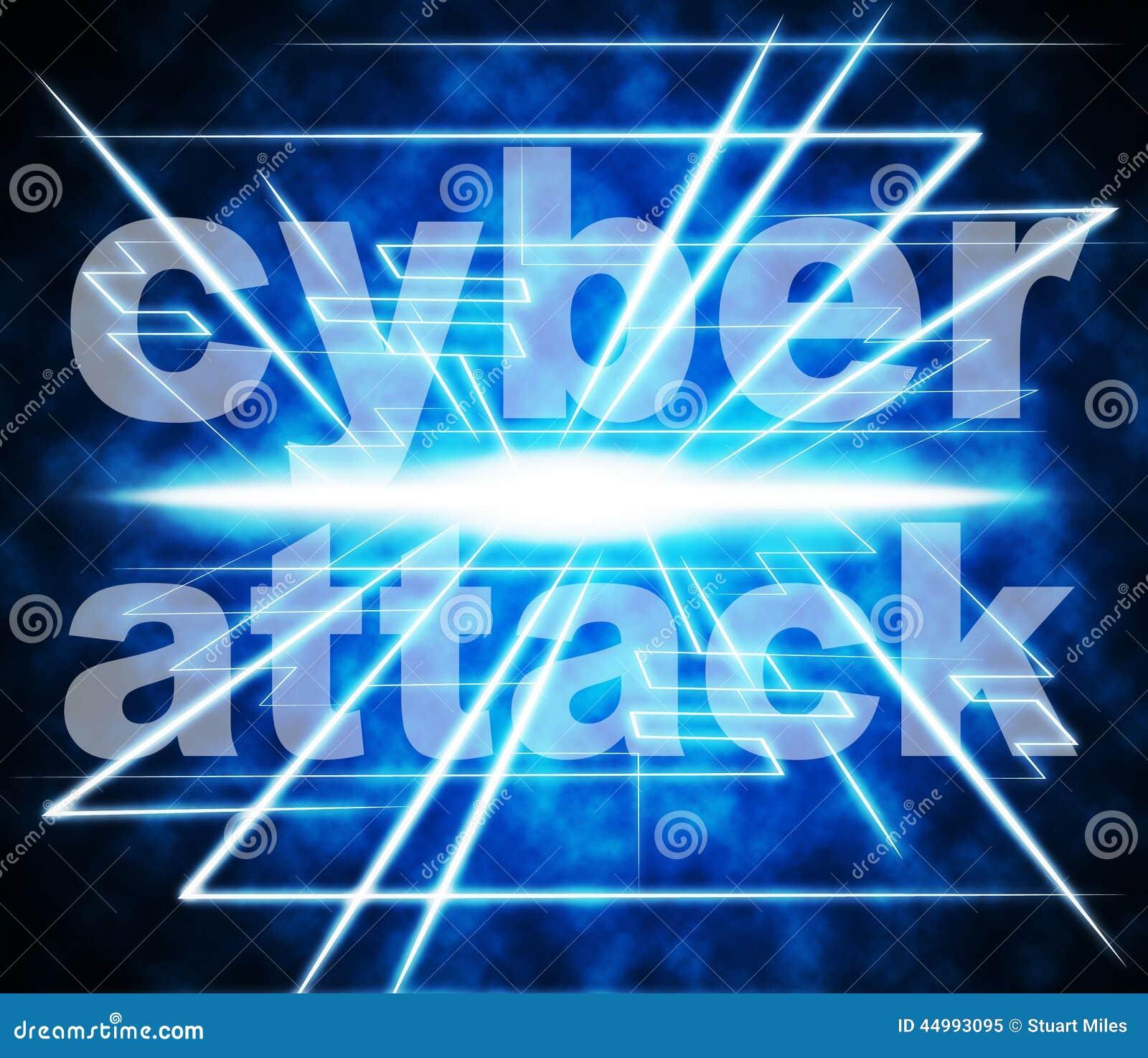 Cyber-Angriff zeigt World Wide Web und Verbrecher