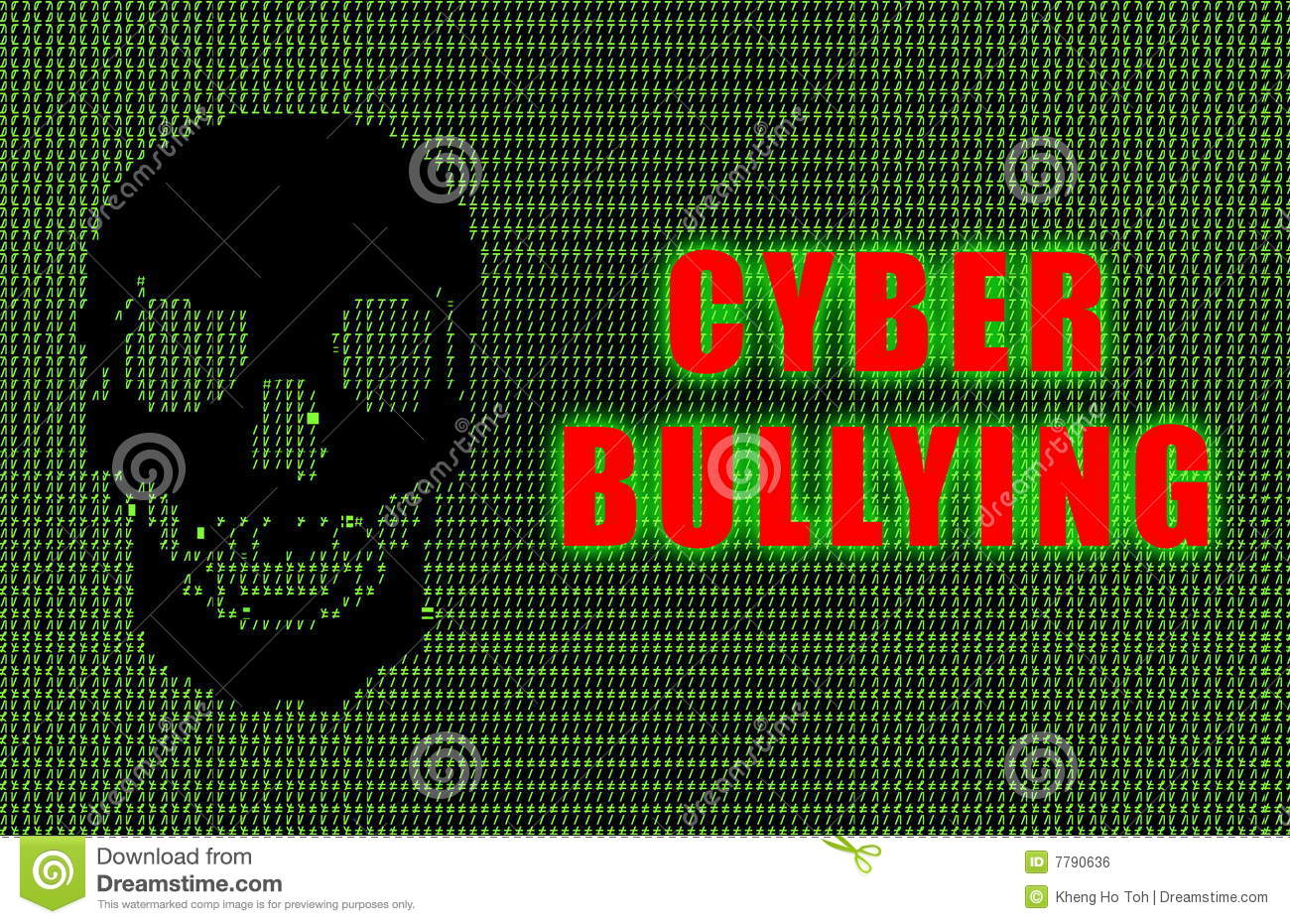 Online 3d Room Design Cyber Bullying Royalty Free Stock Image Image 7790636