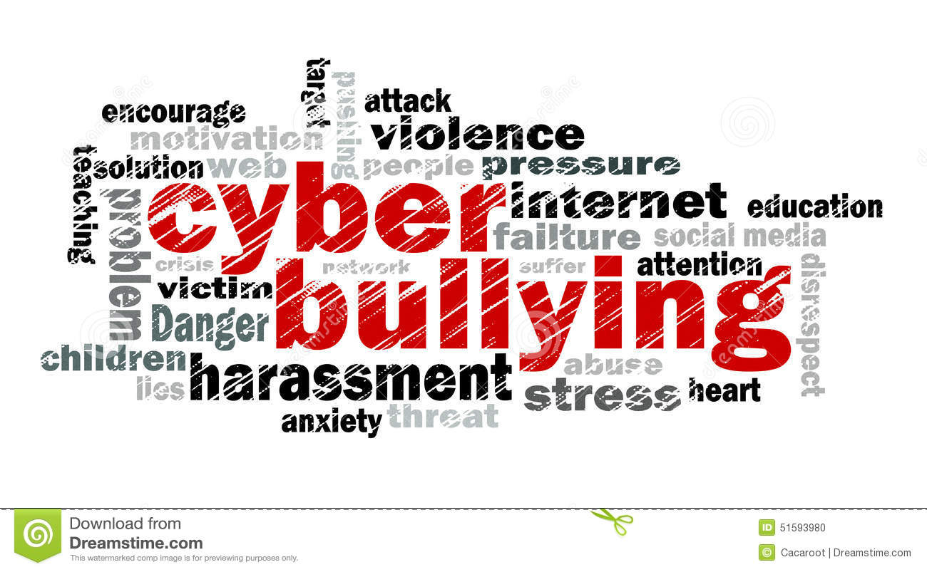 Cyber Bullying Word Cloud Stock Illustration - Image: 51593980 Cyber Bullying Clipart