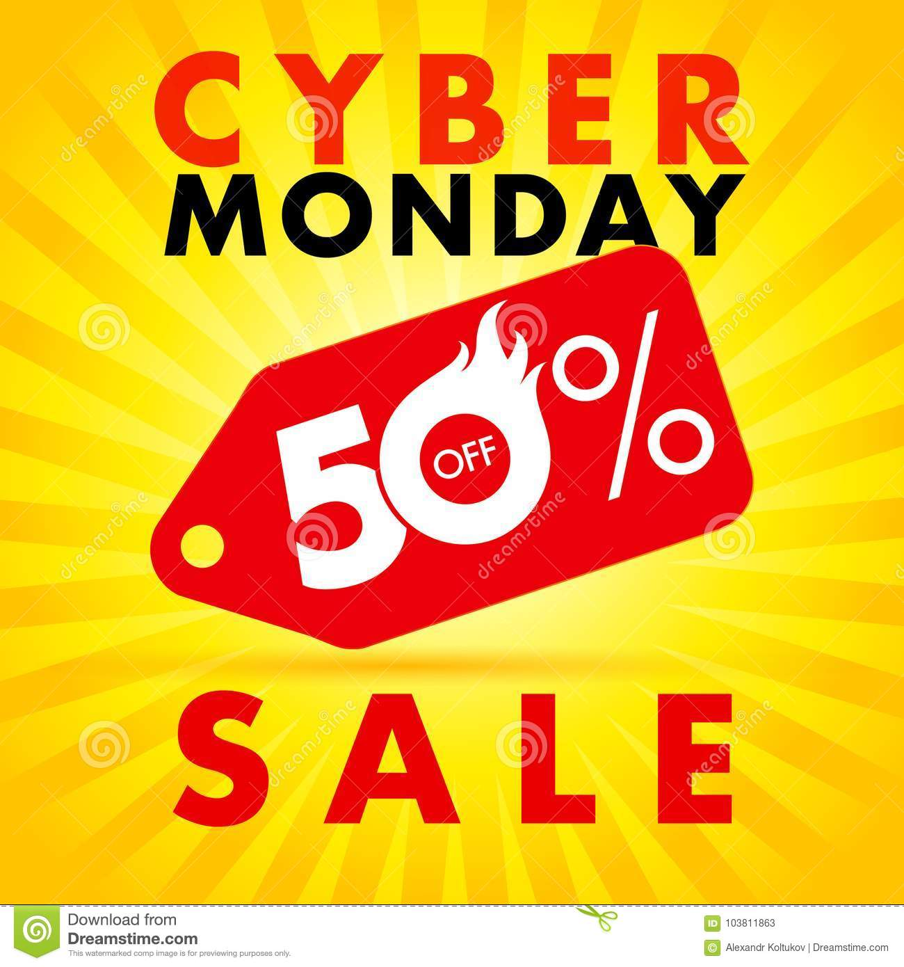Cyber Monday Discount Label Hot Sale Up To 50 Off Stock