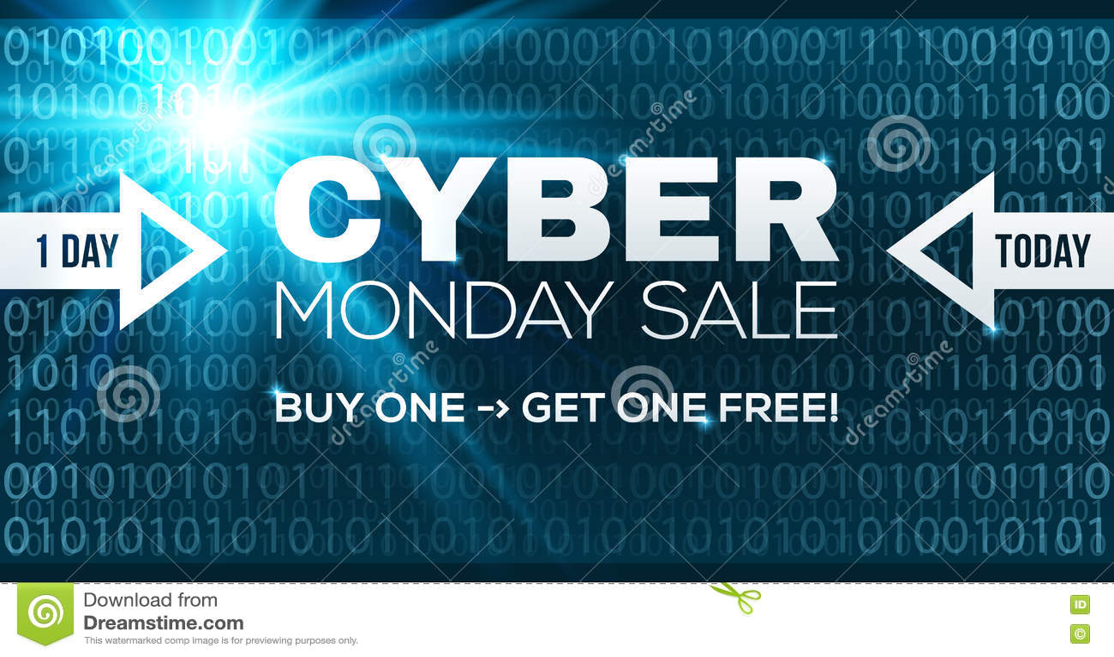32f9127da04 Cyber Monday Sale Vector Banner Template. Stock Vector ...