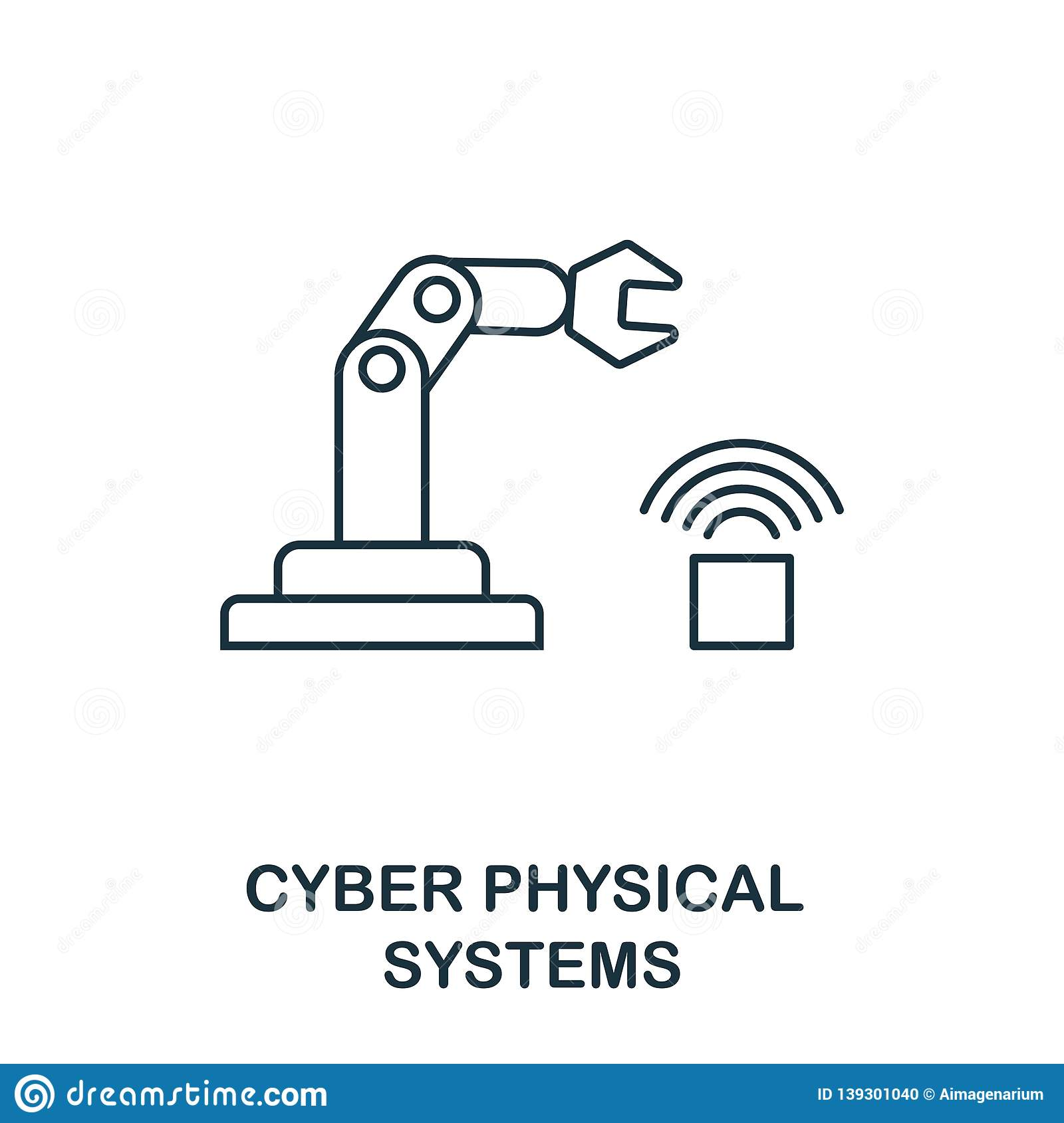 Cyber Physical Systems Icon Thin Line Style Industry 4 0 Icons Collection Ui And Ux Pixel Perfect Cyber Physical Stock Vector Illustration Of Automation Cyber 139301040