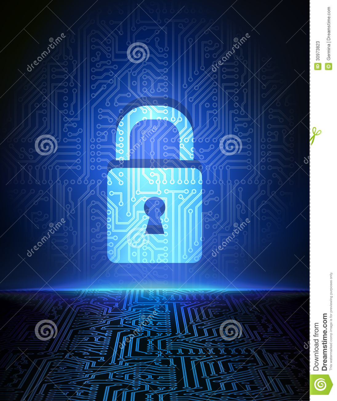 Cyber Security Concept Background Stock Photos Image