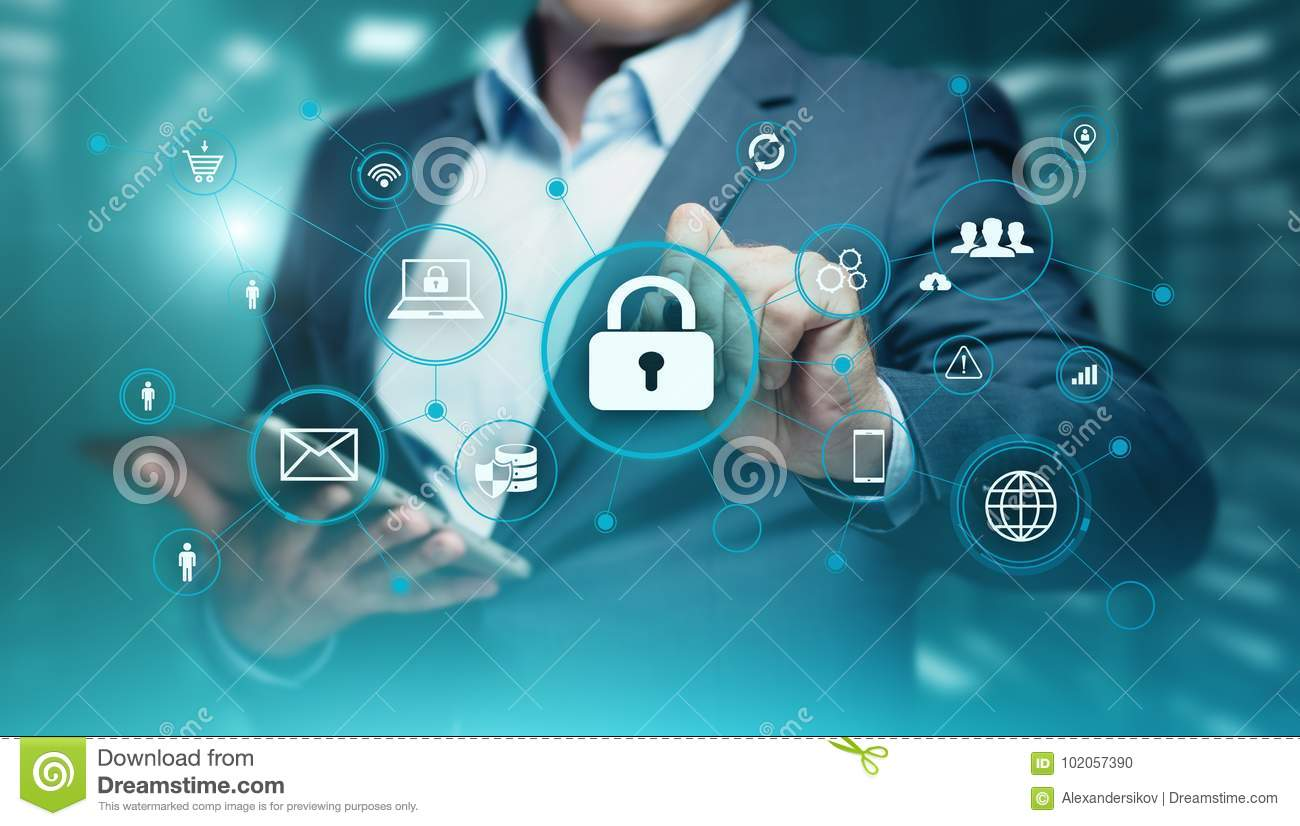 Cyber Security Data Protection Business Technology Privacy concept