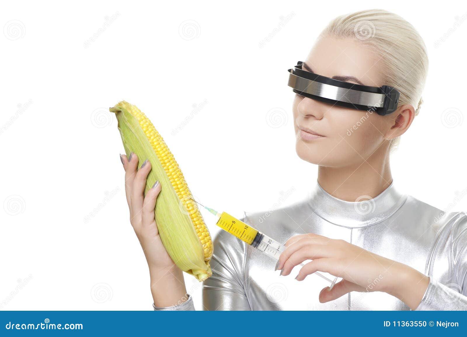 Cyber Woman Stock Photo - Image: 11363550