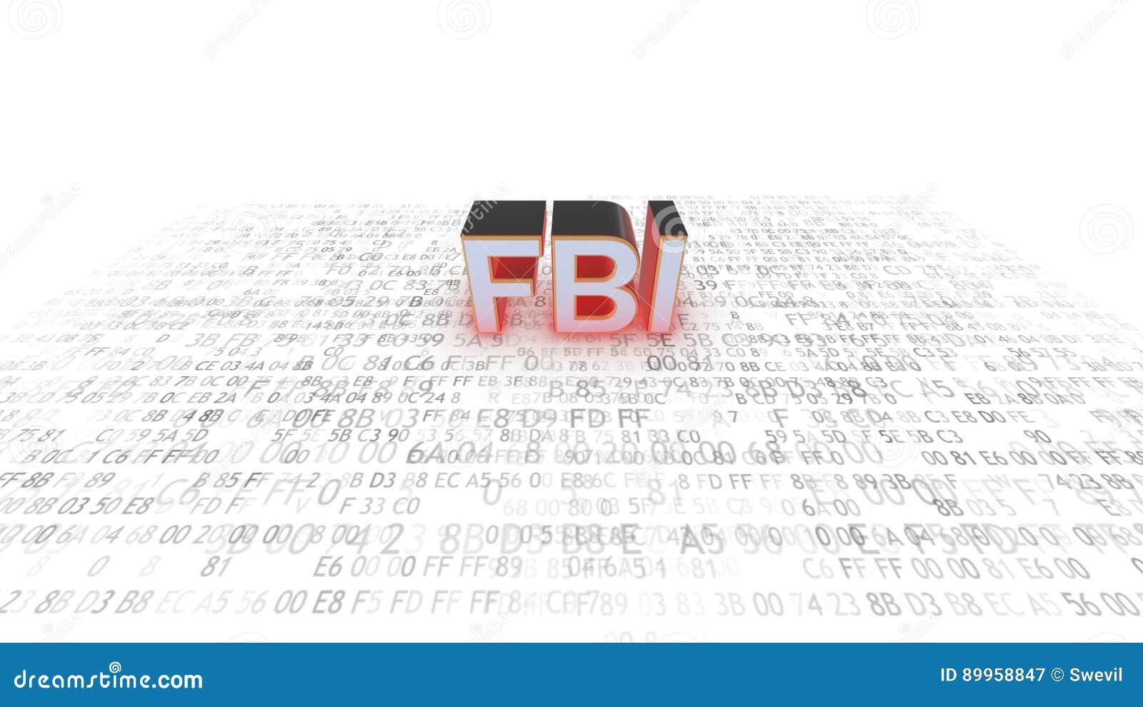 Cyberespionage FBI Entailler de la technologie de l information code blanc