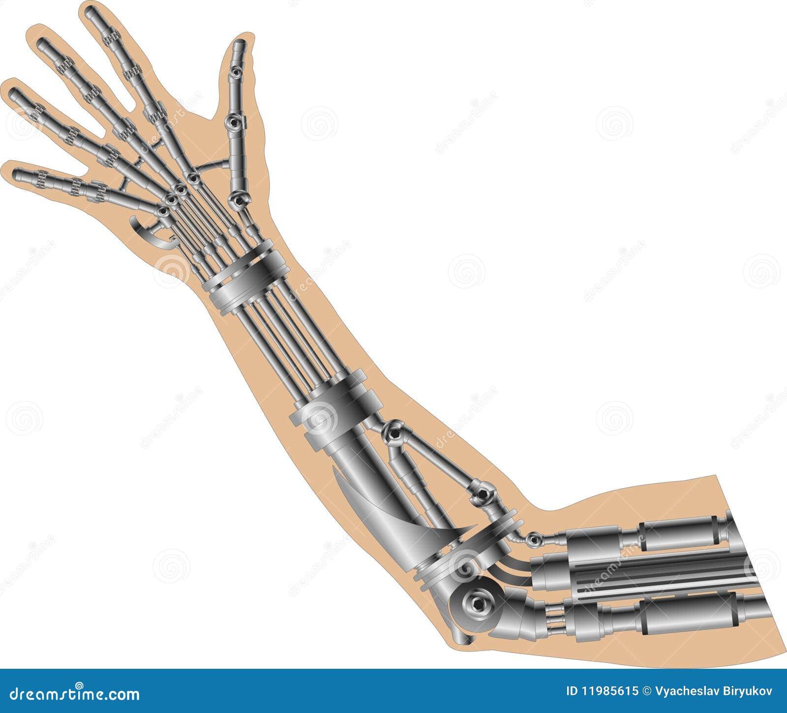 Как сделать кибер руку