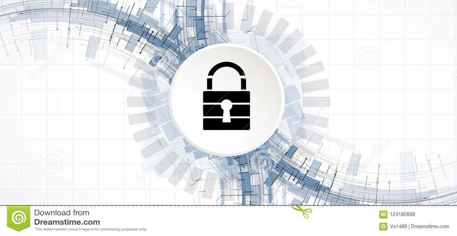 Cybersecurity и предохранение от информации или сети будущий техник
