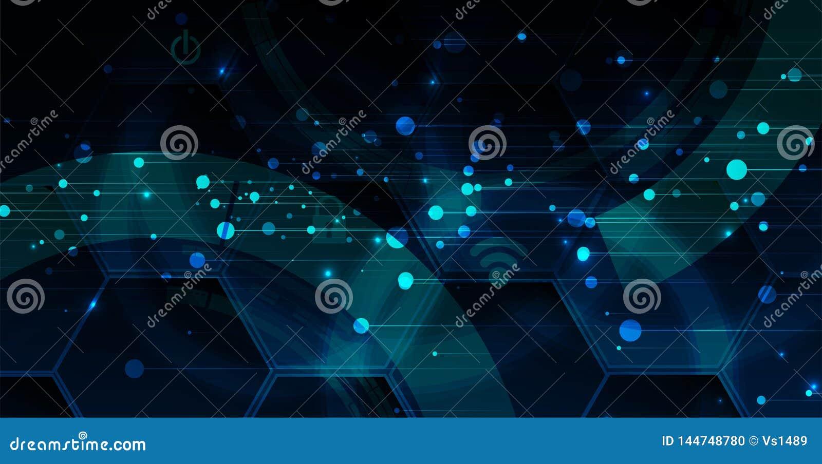 Cybersecurity e prote??o da informa??o ou da rede Os servi?os de Web futuros da tecnologia para o neg?cio e o Internet projetam-s
