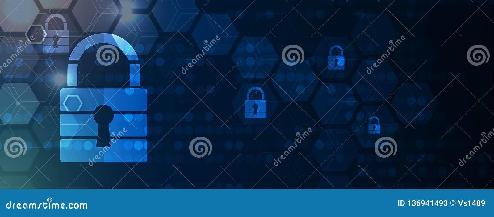 Cybersecurity e protezione della rete o di informazioni I web service futuri della tecnologia per l affare e Internet proiettano