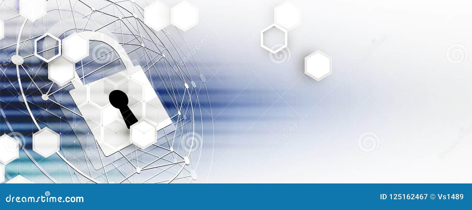 Cybersecurity et protection de l information ou de réseau Future technologie