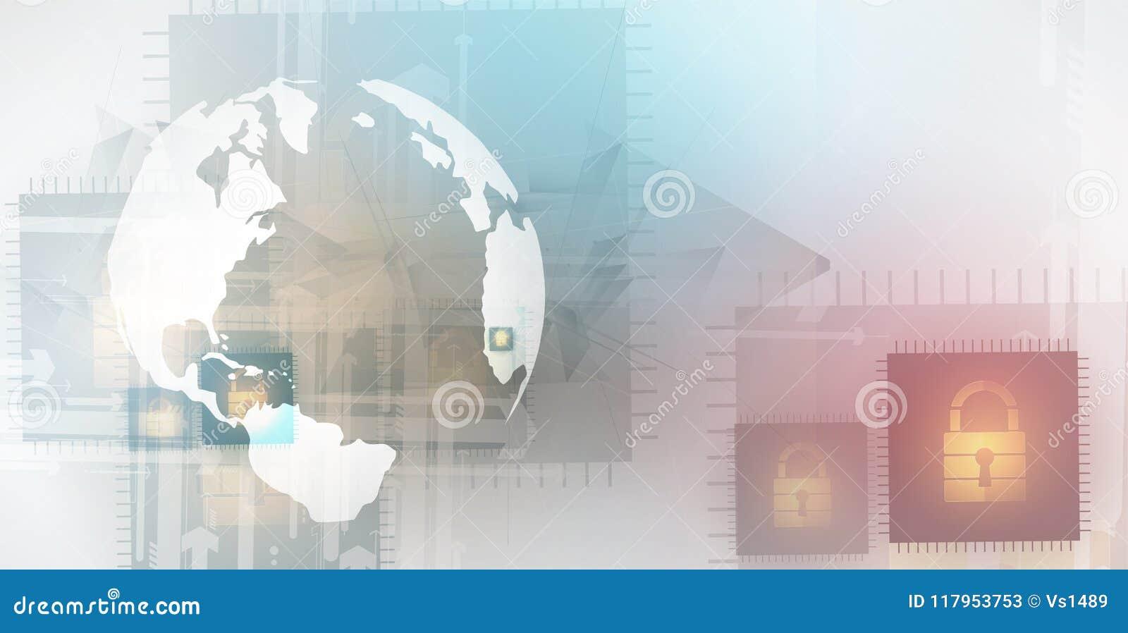 Cyberveiligheid en informatie of netwerkbescherming Toekomst tec