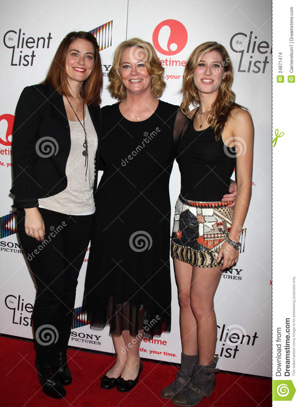 Cybill Shepherd Clementine Ford Editorial Stock Image