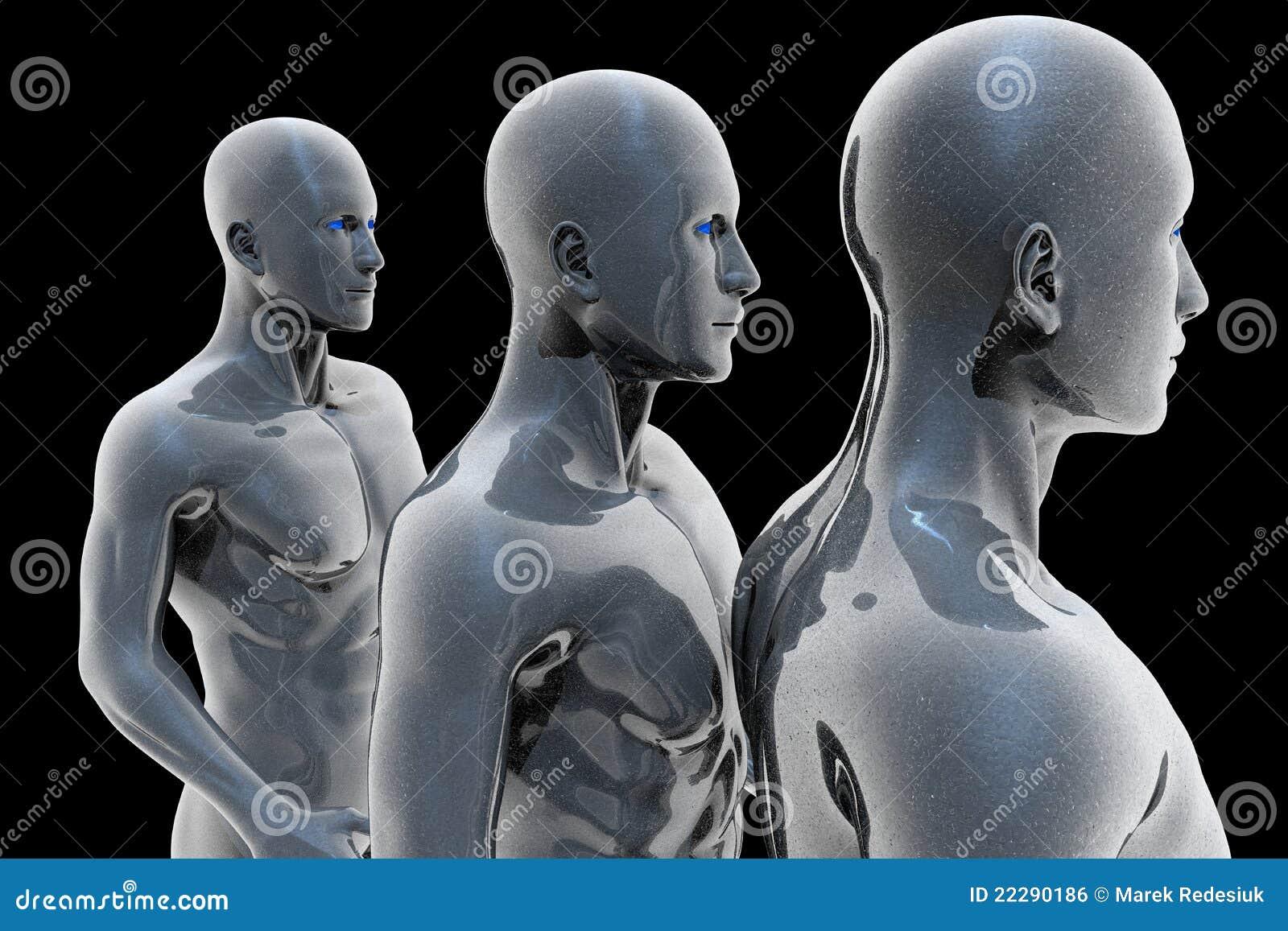 Cyborg - hombre y máquina - futuro