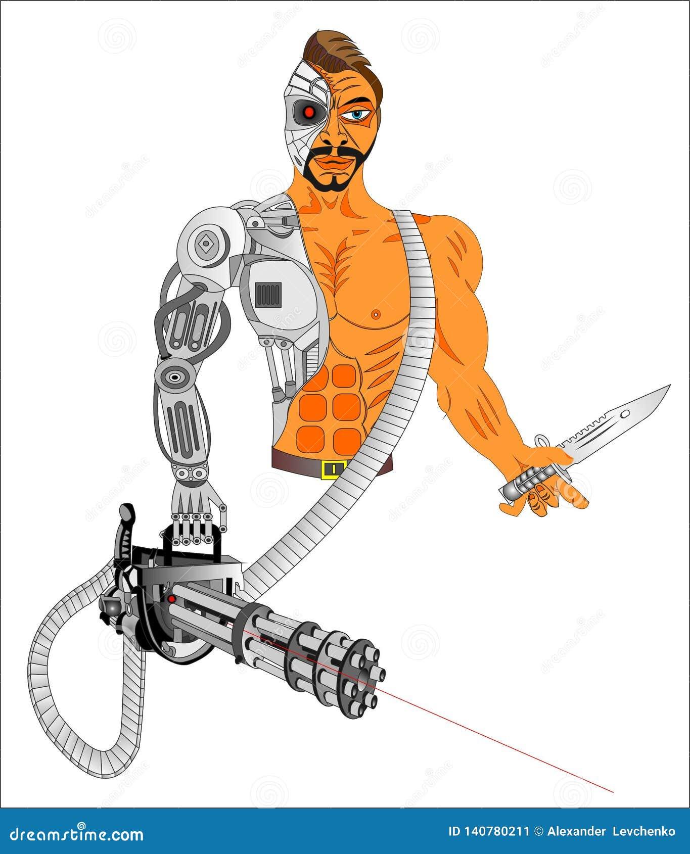 Cyborgvapen av framtiden