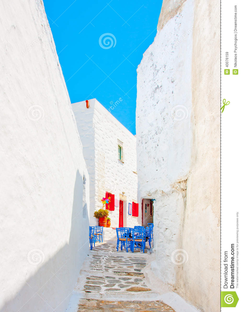 Old beautiful traditional house in chora the capital of amorgos island - Cycladic Road Stock Photo Amorgos Beautiful Greece Island Old Road Traditional