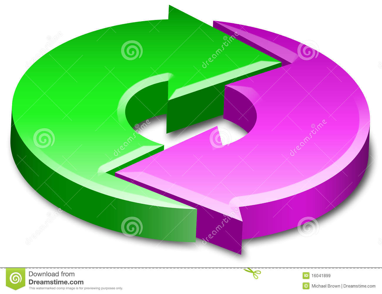 Process cycling arrow by arrow royalty free stock images image - Royalty Free Stock Photo Arrows Circle Cycle Process