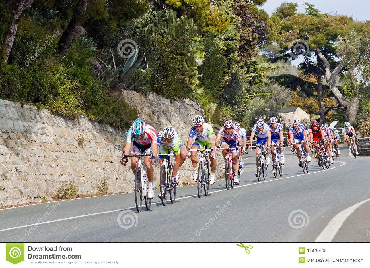 Cycle Race From Milano To San Remo Editorial Stock Photo ...