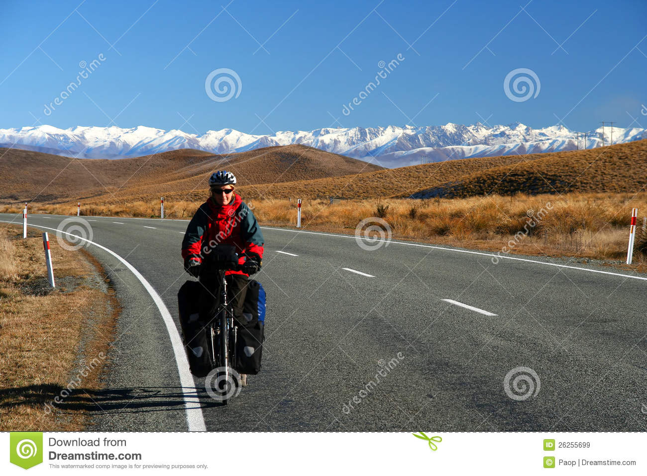 Cycle touring in New Zealand
