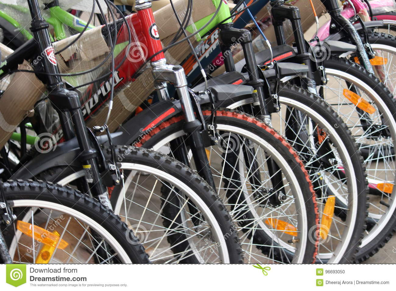 Cycles for sale editorial image  Image of tires, market - 96693050
