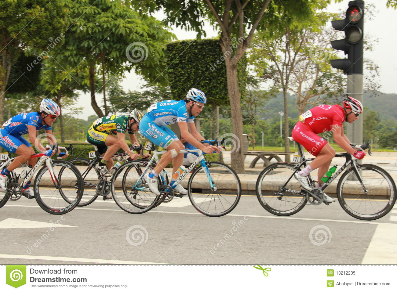 Cycling Competition Editorial Image